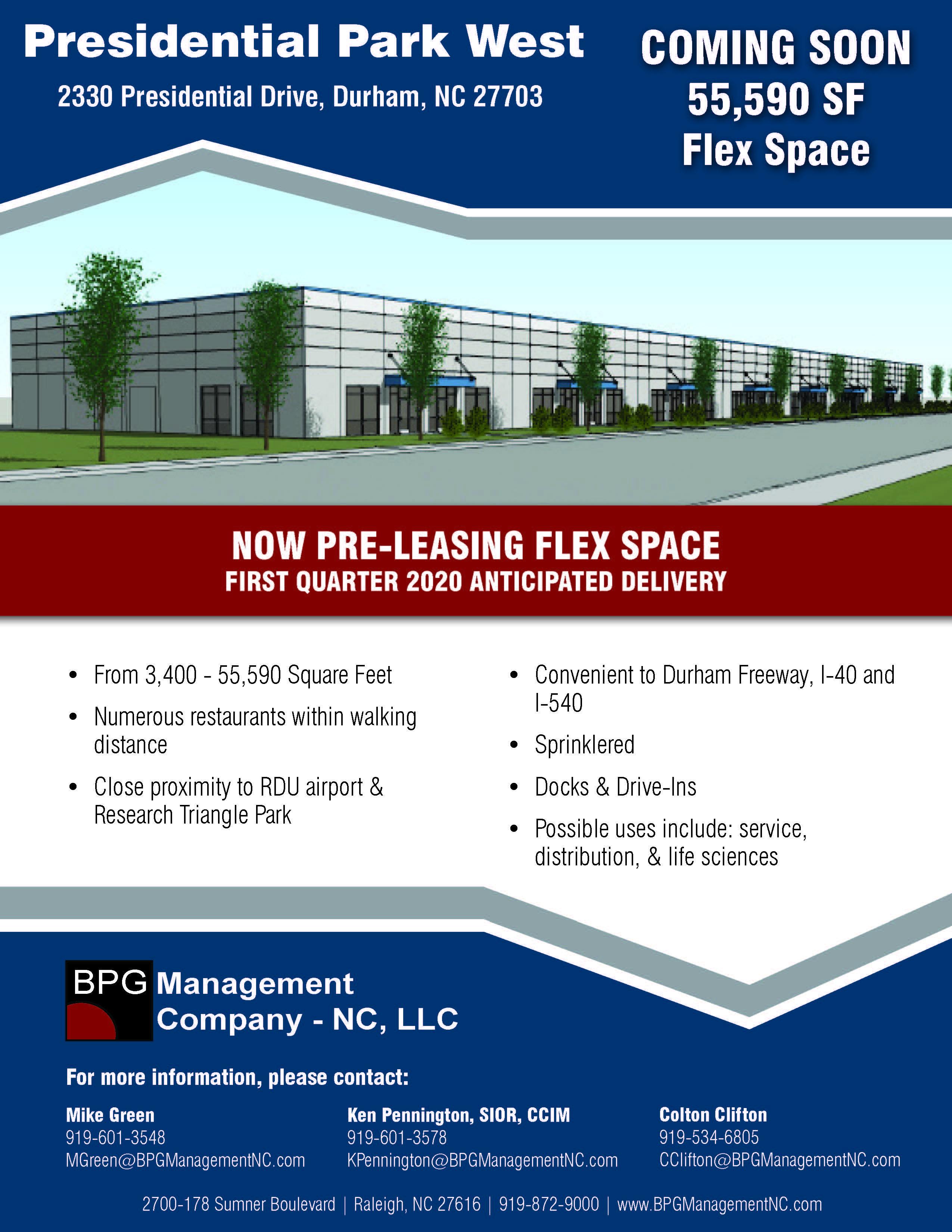 Commercial Real Estate Management | BPG Management NC LLC
